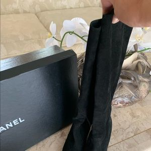 Additional pics.  Chanel suede boots